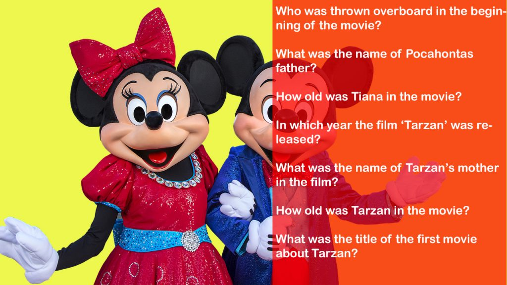 hard and funny disney trivia for kids