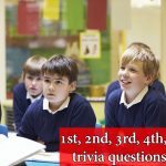 1st, 2nd, 3rd, 4th, 5th grade trivia questions for kids