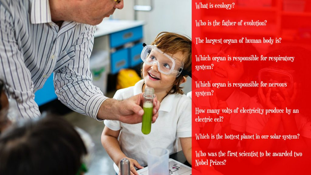 Science quiz for class 2