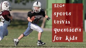 sports trivia questions for kids