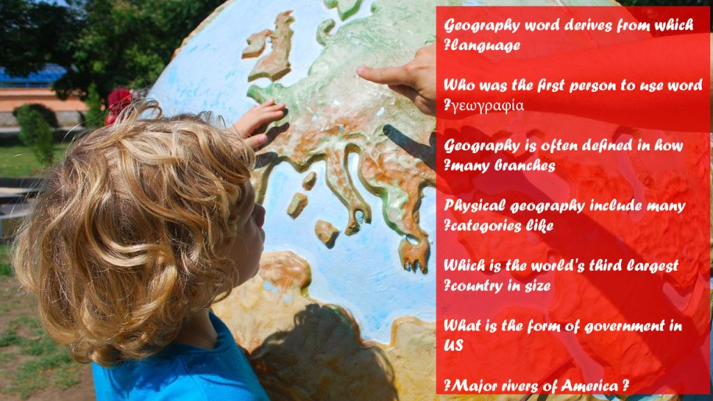 very easy geography trivia for kids