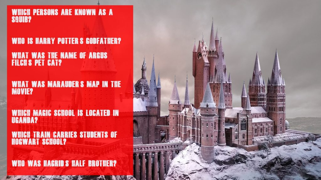 Ultimate Harry Potter Trivia For Kids