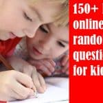 150+ Random trivia questions for kids [Math | Bible | Ocean]