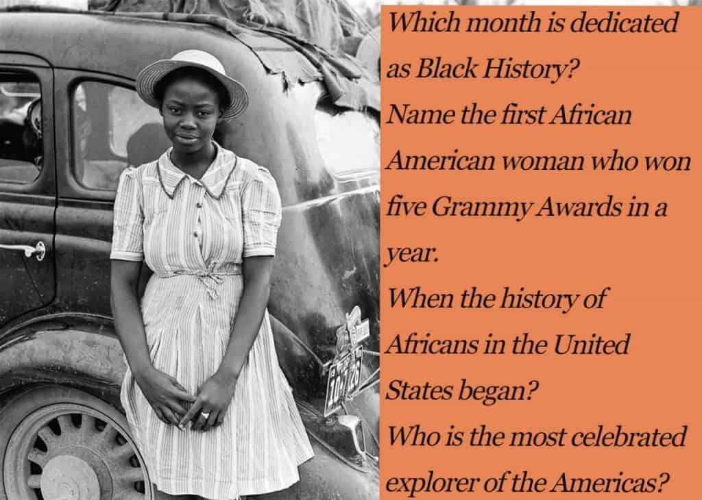 Black History Trivia for Kids