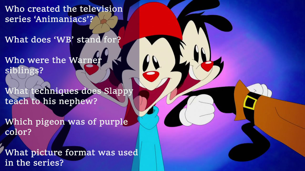 Animaniacs Trivia