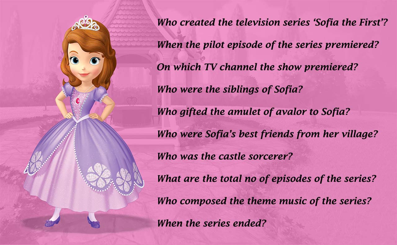 Sofia the First Quiz