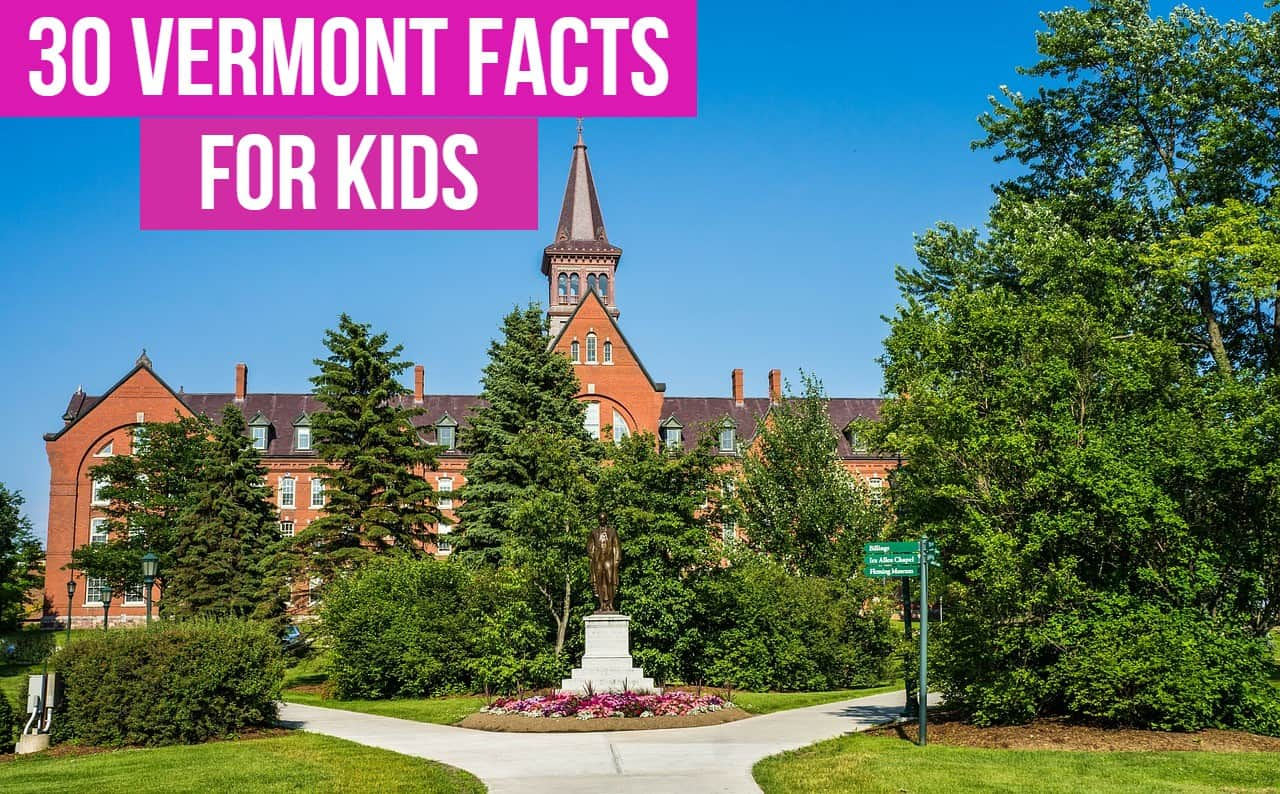 Vermont Facts for Kids